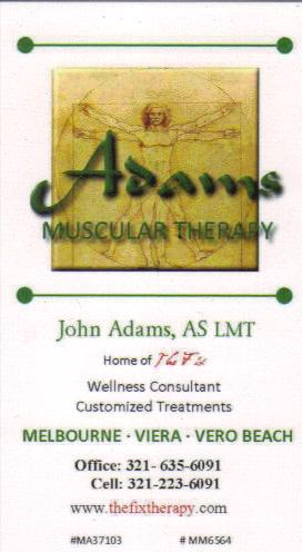 Muscular therapy